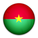 of, flag, faso, Burkina Black icon