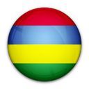 Mauritius, of, flag Black icon