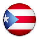 rico, of, flag, Puerto Black icon