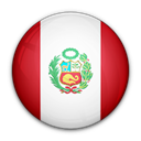 Peru, flag, of Black icon
