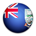 of, flag, islas, Falkland, islands, malvinas Black icon