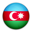 flag, of, Azerbaijan Black icon