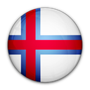 flag, islands, of, Faroe Black icon