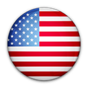 flag, of, united, states Black icon