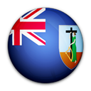 Montserrat, of, flag Black icon