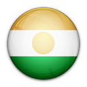Niger, of, flag Black icon