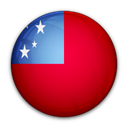 samoa, of, flag Crimson icon