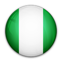 of, flag, Nigeria Black icon