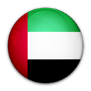 flag, Arab, united, emirates, of Black icon