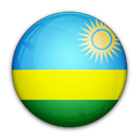 Rwanda, of, flag Black icon