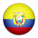 Ecuador, of, flag Black icon