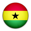 of, flag, Ghana Black icon