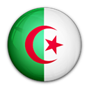 flag, Algeria, of Black icon