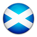 of, Scotland, flag Black icon