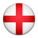 of, flag, England Crimson icon