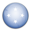 of, flag, Micronesia LightSteelBlue icon