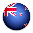 new, of, flag, zealand Black icon
