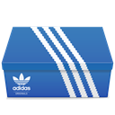 Adidas, shoes SteelBlue icon