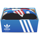 shoes, Adidas, Box SteelBlue icon