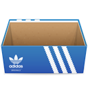 shoe, Box, Adidas, shoes SteelBlue icon