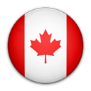 flag, of, canada Black icon