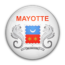 flag, mayotte, of Black icon