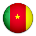 Cameroon, flag, of Crimson icon