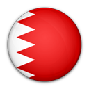 Bahrain, flag, of Crimson icon
