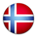 Norway, flag, of Black icon