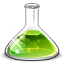 flask YellowGreen icon