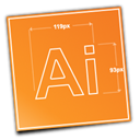 illustrator, adobe DarkOrange icon
