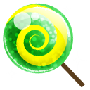 Lollipop, Candy MediumSeaGreen icon