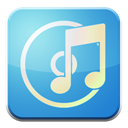 itunes SkyBlue icon