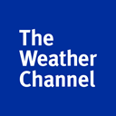 the, Channel, weather DarkBlue icon