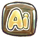 illustrator, adobe DarkSlateGray icon