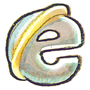 Ie, web Black icon