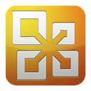 Ms, office Goldenrod icon