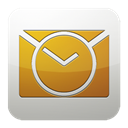 Ms, outlook Goldenrod icon