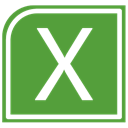 Excel OliveDrab icon