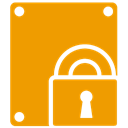 Bitlocker Orange icon