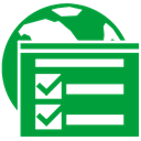 internet, Options ForestGreen icon