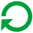 restart, power ForestGreen icon