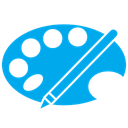 paint DeepSkyBlue icon