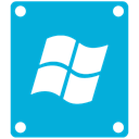 windows, drive DarkTurquoise icon