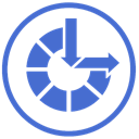 of, ease, Access RoyalBlue icon