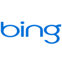 Bing Black icon