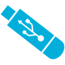 Usb DarkTurquoise icon