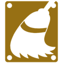 Cleanup, Disk Olive icon