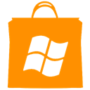 windows, store DarkOrange icon