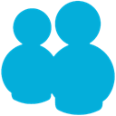 Messenger, Live DarkTurquoise icon